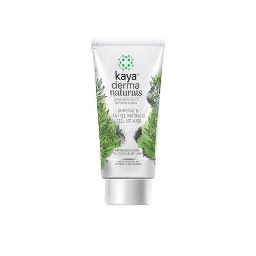 Kaya Skin Clinic Unisex Charcoal Tea Tree Mattifying Peel-Off Mask 50 ml
