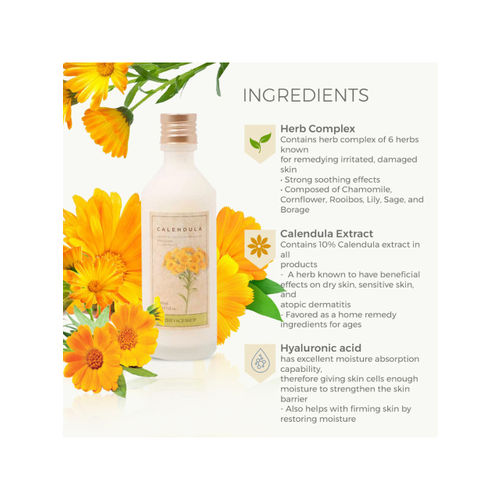 The Face Shop Calendula Essential Moisture Emulsion 150 ml