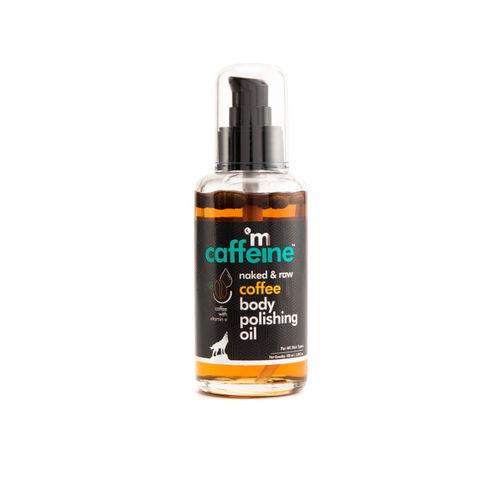 MCaffeine Unisex Cellulite & Stretch Mark Reduction Body Scrub & Polishing Oil