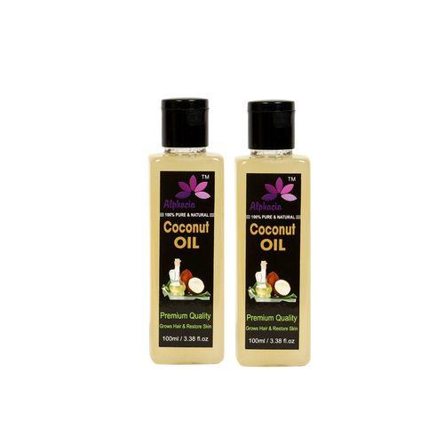 alphacia 100% natural coconut hair oil 200ml