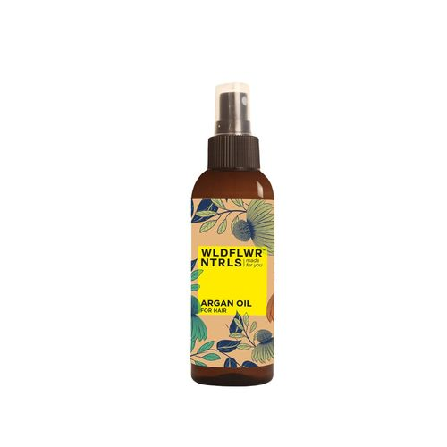 Wildflower Naturals argan oil for hair