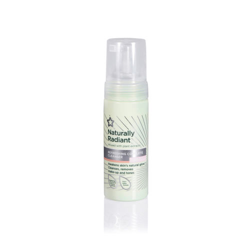 Superdrug Unisex Naturally Radiant Refreshing Complete Cleanser 150 ml