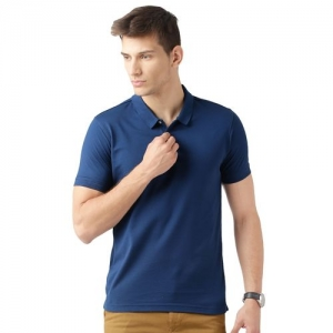 Concepts solid blue polo t-shirt