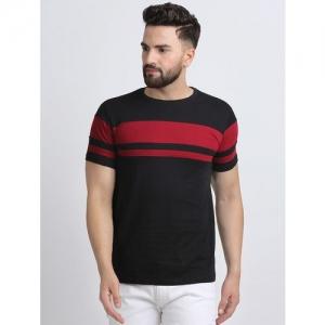 Leotude black striped t-shirt