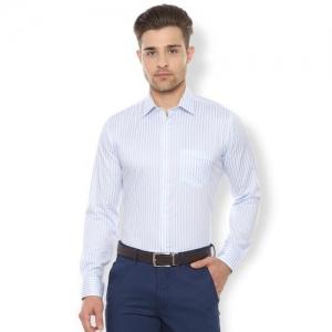 Van Heusen blue striped formal shirt