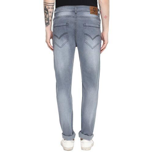 Urbano Fashion grey heavy washed denim jeans