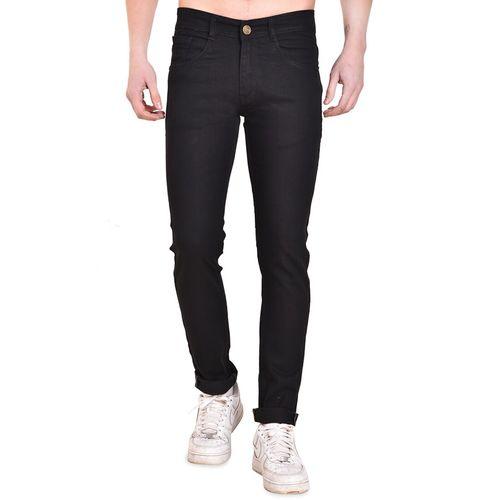 Mark Tailor black denim plain jeans