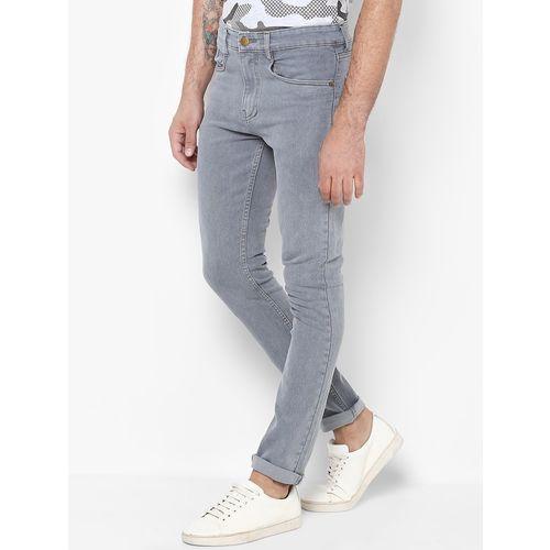 Urbano Fashion grey light washed denim jeans