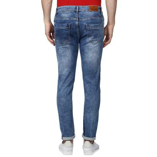BUKKL blue light washed denim jeans