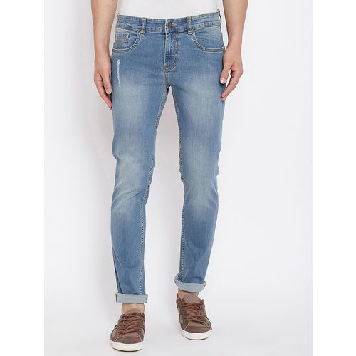 AMERICAN ARCHER blue denim light washed jeans