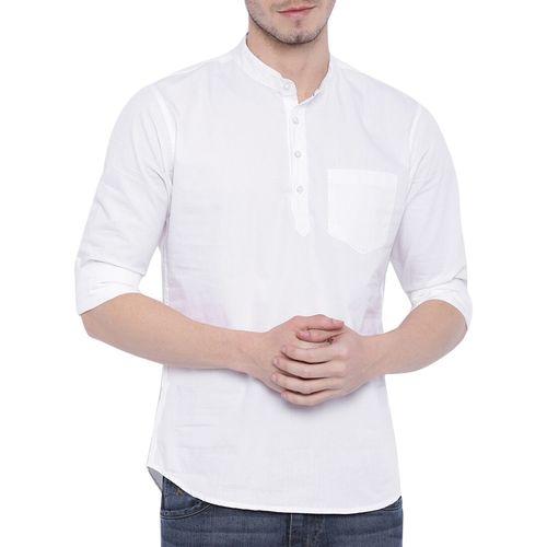ZAVLIN white solid short kurta