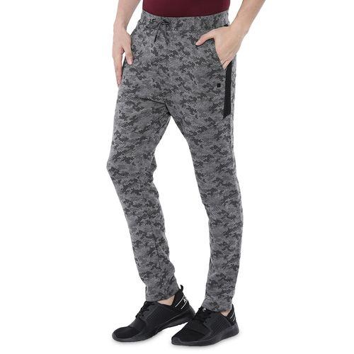 PROLINE grey printed full length track pant