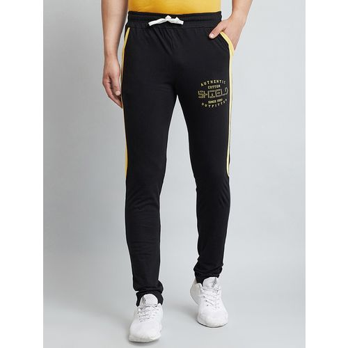 V2 VALUE & VARIETY black side striped track pants