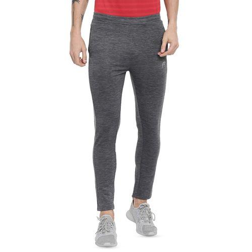 PROLINE grey solid full length track pant