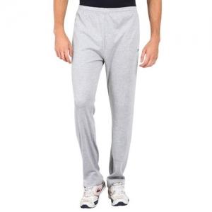 PROLINE grey cotton full length track pant