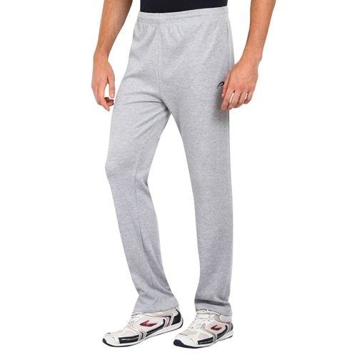 PROLINE grey cotton full length track pant
