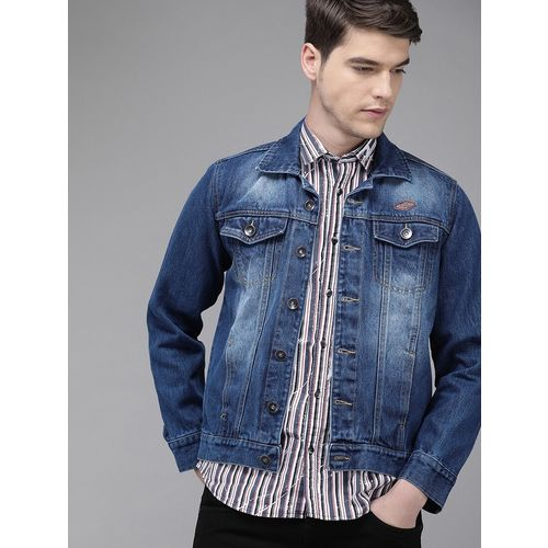 Solid Styles blue washed denim jacket