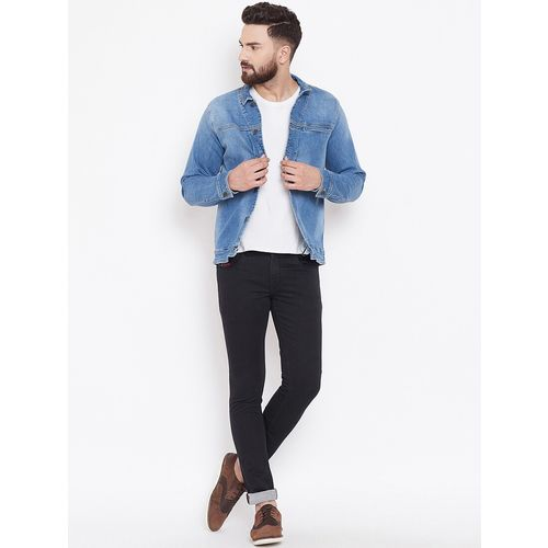 Canary London blue faded denim jacket