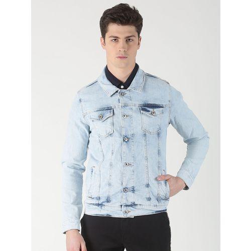 Blue Saint blue washed denim jacket