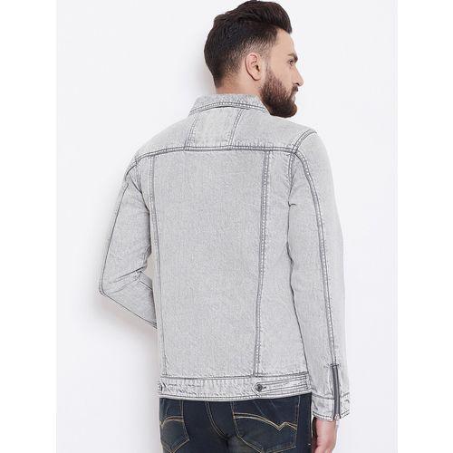 Canary London grey washed denim jacket