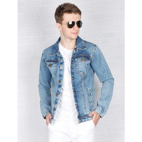 Carbonn Blue blue washed denim jacket