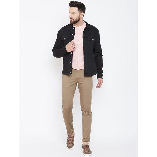 Canary London black solid denim jacket