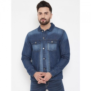 Canary London blue washed denim jacket