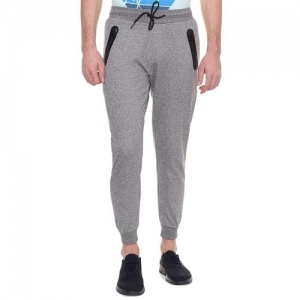 People grey solid jogger