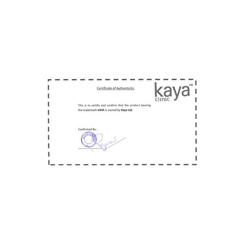 Kaya Skin Clinic Unisex Intense Clarity System