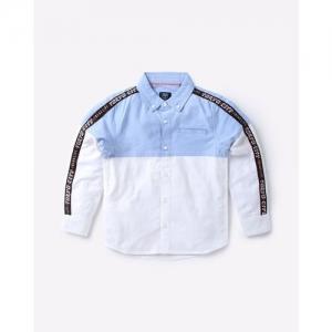 KB TEAM SPIRIT Colourblock Shirt with Contrast Taping