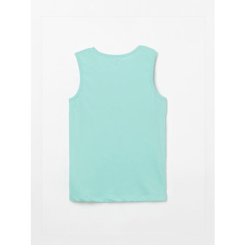 Fame Forever by Lifestyle Boys Blue Printed Round Neck T-shirt