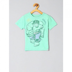 GAP Baby Boys Green Marvel Graphic Short Sleeve T-Shirt