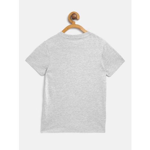 Marks & Spencer Boys Olive Green Regular Fit Camouflage Print Denim Shirt with T-shirt