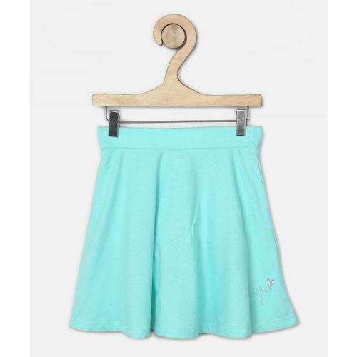 U.S. Polo Assn. Kids Solid Girls Regular Blue Skirt