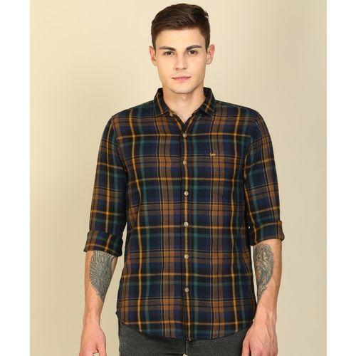 Lee Men Checkered Casual Multicolor Shirt