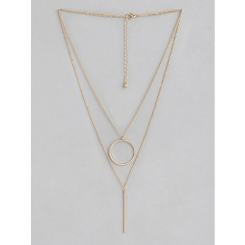 20Dresses Gold-Toned Layered Necklace