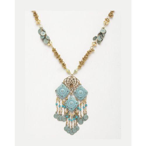 Diva Walk Gold-Plated Beaded Chain
