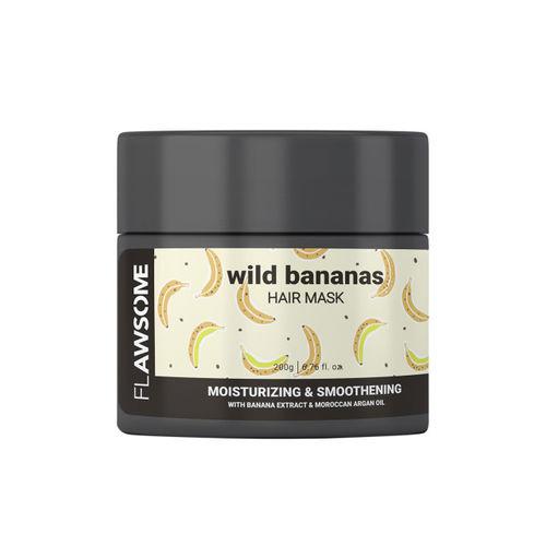 Flawsome Unisex Wild Bananas Moisturizing & Smoothening Hair Mask