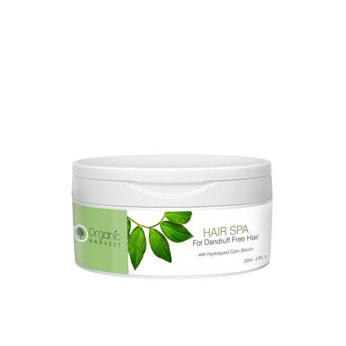 Organic Harvest Unisex Dandruff Free Hair Spa With Hydrolyzed Corn Starch 200 ml