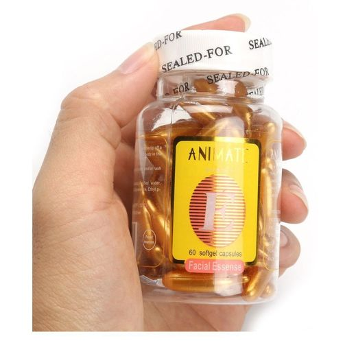 Profession Vitamin E Facial (Golden) 60 Capsules Oil (60 g) for Women Set of 1