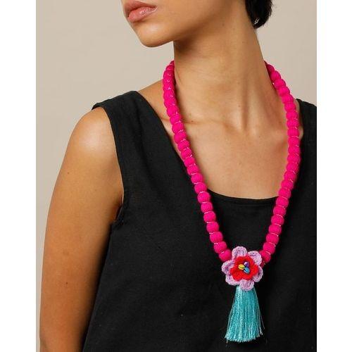 Indie Picks Thai Lanna Tribe Handmade Floral Necklace