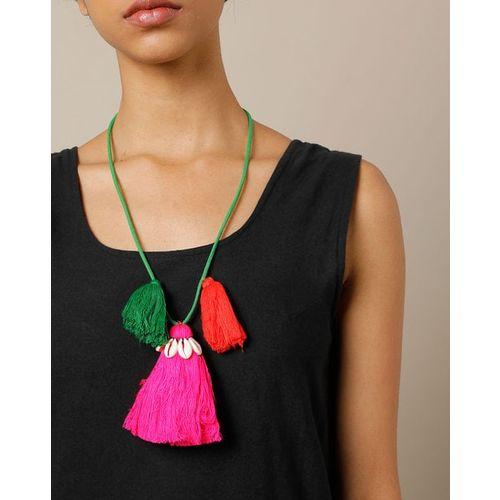 Indie Picks Thai Lanna Tribe Handmade Shell Necklace