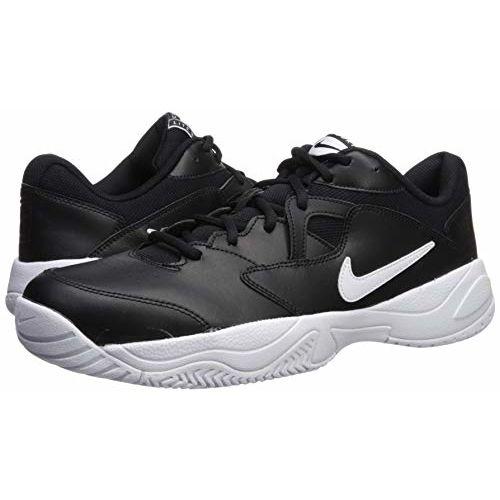 Nike Men's Court Lite 2 Black White Tennis Shoes-9 UK (44 EU) (10 US) (AR8836-001)