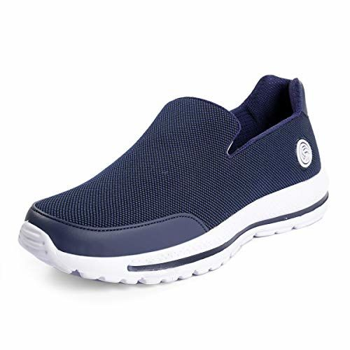 Bacca Bucci Performance Men's Athletic Walking Comfortable Lightweight Incredible Walking Shoes-Blue