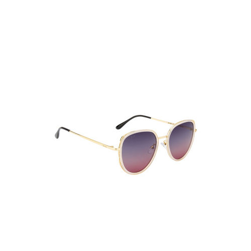 Ted Smith Women Wayfarer Polarised and UV Protected Sunglasses TS-NC-201986_C69