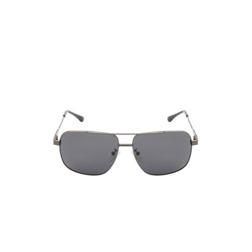 Ted Smith Unisex Grey Rectangle Sunglasses TS-NC-P201920