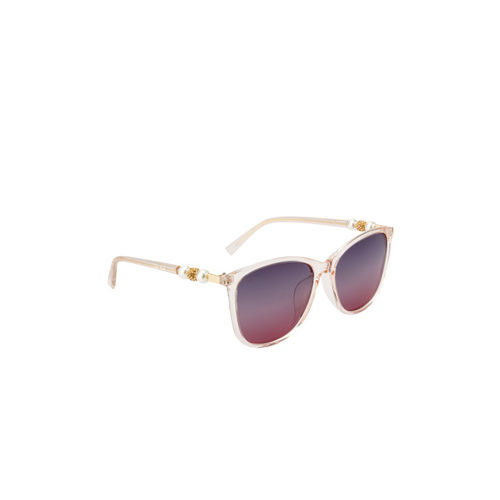 Ted Smith Women Wayfarer Polarised and UV Protected Sunglasses TS-NC-201948_C2