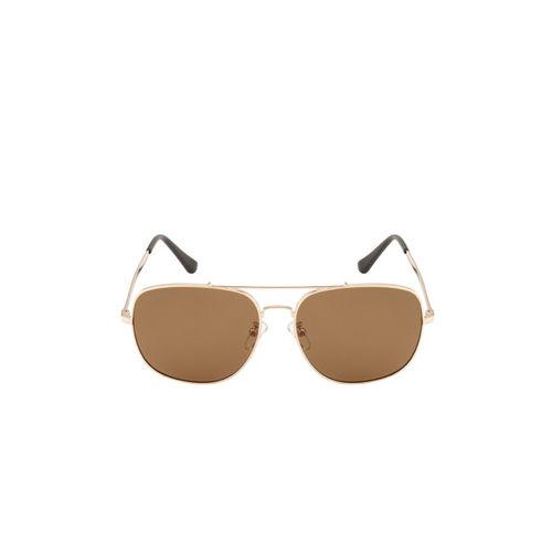 Ted Smith Unisex Aviator Sunglasses TS-NC-1231S_GLD