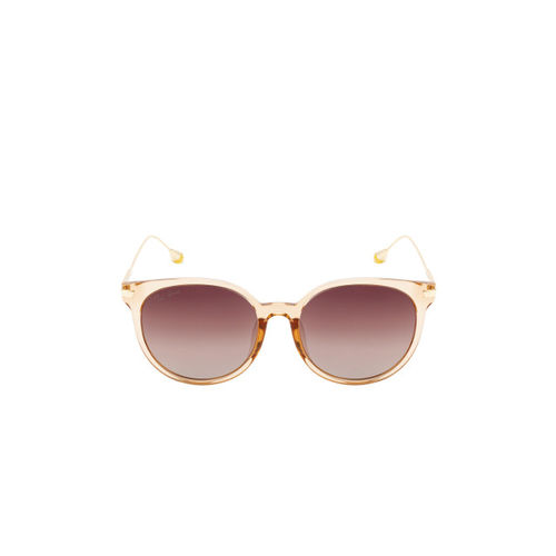 Ted Smith Women Round Polarised and UV Protected Sunglasses TS-NC-201952_C15