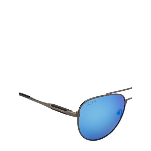 Ted Smith Unisex Aviator Polarised and UV Protected Sunglasses TS-NC-P201940